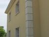 Gevel in architectonisch beton - voorbeeld hoekpanelen