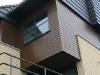 gevelbekleding houtcomposiet belface bruin